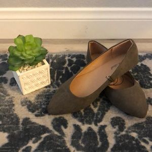❗️ Wet Seal Gray Suede Flats NWT❗️